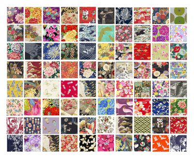 HOLIDAY SPECIAL!!  20 Asian Japanese Fat Quarter Variety
