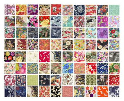 NEW YEAR SPECIAL!!  20 Asian Japanese Fat Quarter Variety