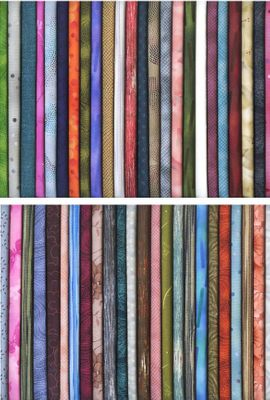 30 Blender/Tone-on-Tone Fat Quarters - 7 1/2 Yds.