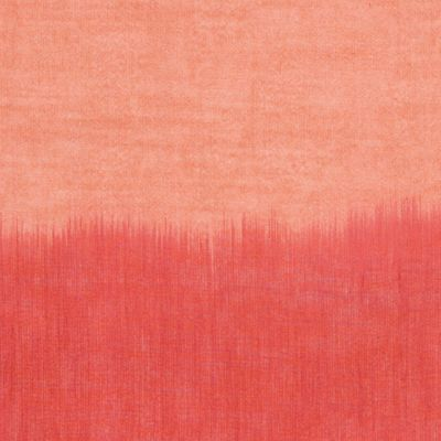 ARTISAN Ikat Yarn-Dyed - Apricot & Coral - BTY