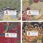 "SPECIAL PROMOTION! Asian Fabric Charm Pack  - Set of 40 - 5"" x 5"""
