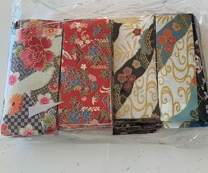 ASIAN FABRIC SCRAP BAG - Asst Prints and Sizes
