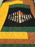 Asian Panel Quilt by Mary in Ontario, Canada