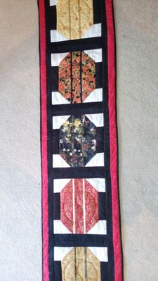 Bed Runner by Mary in Ontario Canada