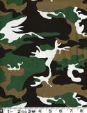CAMOULAGE FABRIC: Green