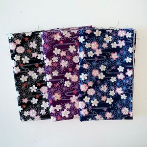 CHERRY BLOSSOMS ADRIFT: 3 Fat Quarters