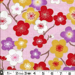 COLORFUL PLUM BLOSSOMS: PINK