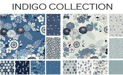 NEW ARRIVAL! INDIGO COLLECTION from Makower