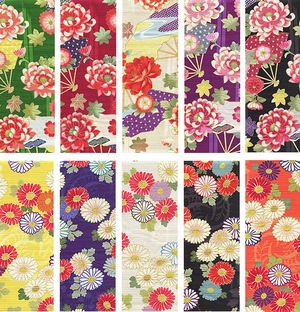 NEW COLLECTION!!!  JAPANESE FLORALS I & II
