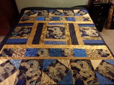 Dragon Quilt by Kathy in MO