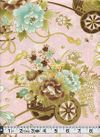 Flower Carts of Japan - Blush Pink with Gold Metallic