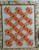 Happy Garden Quilt by Marian in Hudson, NH