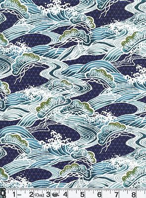 RIVERS OF JAPAN - Navy Blue