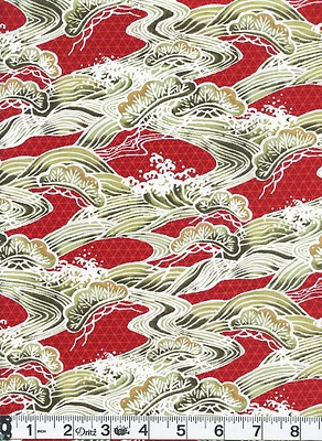 RIVERS OF JAPAN - Red