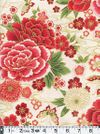 IMPERIAL 15 - Peonies & Cherry Blossoms - Cream
