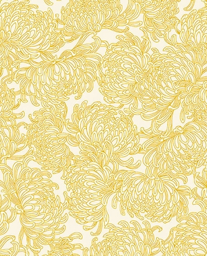 IMPERIAL MUMS: Ivory/Gold Metallic
