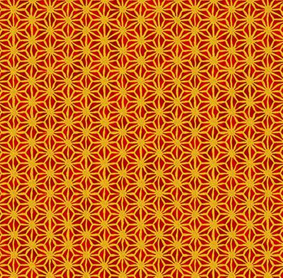 IMPERIAL STAR DESIGN: Crimson/Gold Metallic
