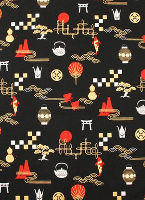 JAPANESE CULTURAL ICONS - Black