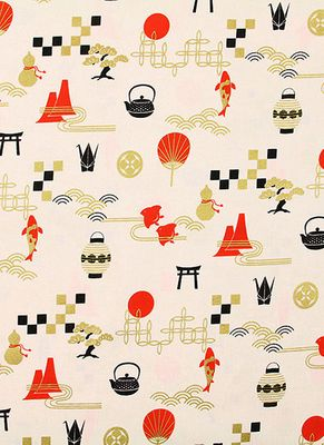 JAPANESE CULTURAL ICONS - Cream