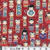JAPANESE DOLLS �Kokeshi� - Red