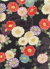JAPANESE FLORALS - Design I - Black