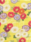 JAPANESE FLORALS - Design I - Yellow