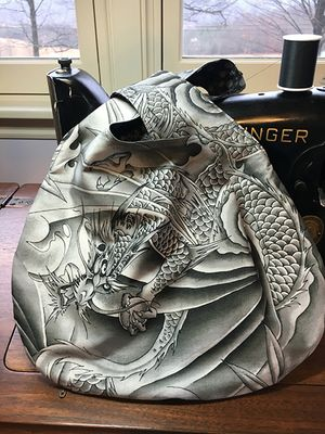 Japanese Knot Bag by Lorie in E. Berne, NY