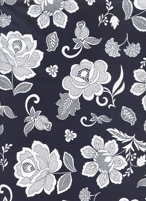 Lacy Flowers: SIMPLY ECLECTIC - Indigo