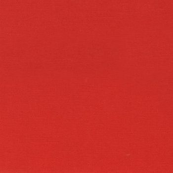 LINEN/COTTON SOLID: Ruby Red