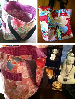 Lovely Tote Bags by Donna in Kamuela, HI