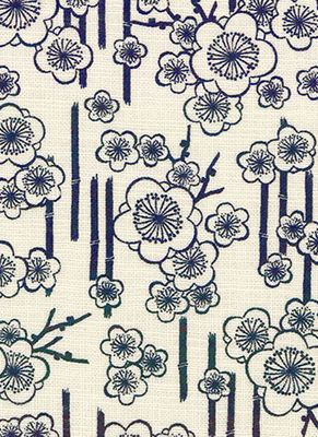 NARA HOMESPUN: Plum Blossoms