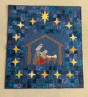 Nativity Quilt Hanging by Donna in Lewisville, NC