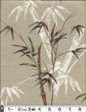 BAMBOO TREES: Beige - By the Yard