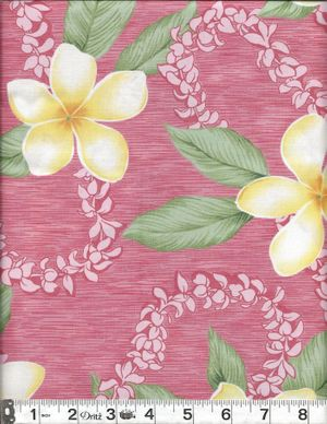 PLUMERIA BLOSSOMS: Red - BTY