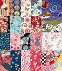 Japanese Fabric Charm Pack: 20 Pieces