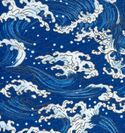 WHITE CRESTED WAVES - Blue