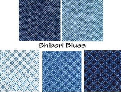 NEW! SHIBORI BLUES