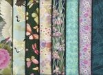 8 Asian Japanese Fat Quarter Collection VI (2 Yards Total)