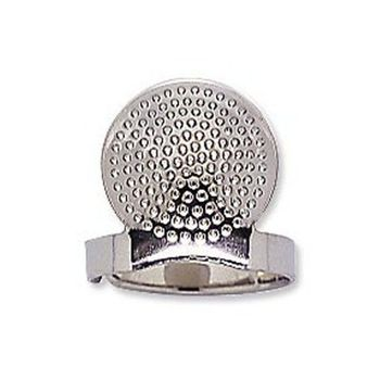 Sashiko Palm Thimble - Adjustable with Plate