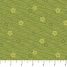 KYOTO GARDEN: Tonal Cherry Blossoms and Waves - Green