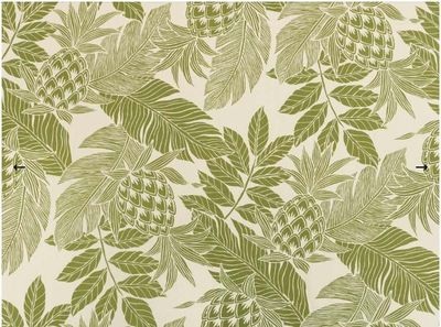 BEAUTIFUL TROPICAL FABRIC: Olive Green - BTY