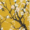 CHERRY BLOSSOM BRANCHES: Gold