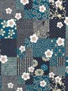 Blocks of Asian Designs: Blues