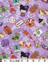 CHARMING CHILDREN'S FABRIC: Lavender