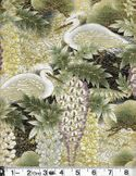 WISTERIA & WHITE HERONS: Sage Green - BTY