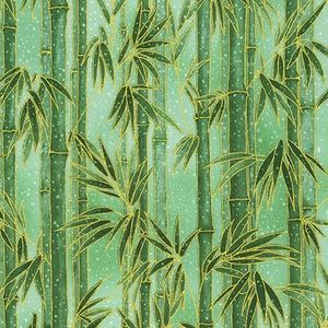 IMPERIAL 16: Bamboo in the Snow - Green