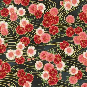 IMPERIAL 16: Gilded Cherry Blossoms - Red