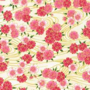 IMPERIAL 16: Gilded Cherry Blossoms - Cream