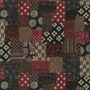 PATCHWORK DESIGN: Red Homespun