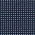 DOTTED DESIGN: Indigo & White
